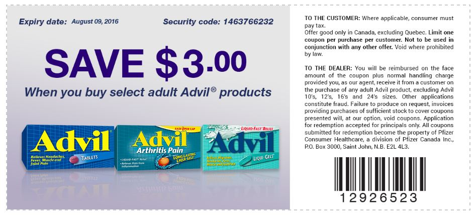 photograph relating to Advil Coupons Printable named Advil - Data