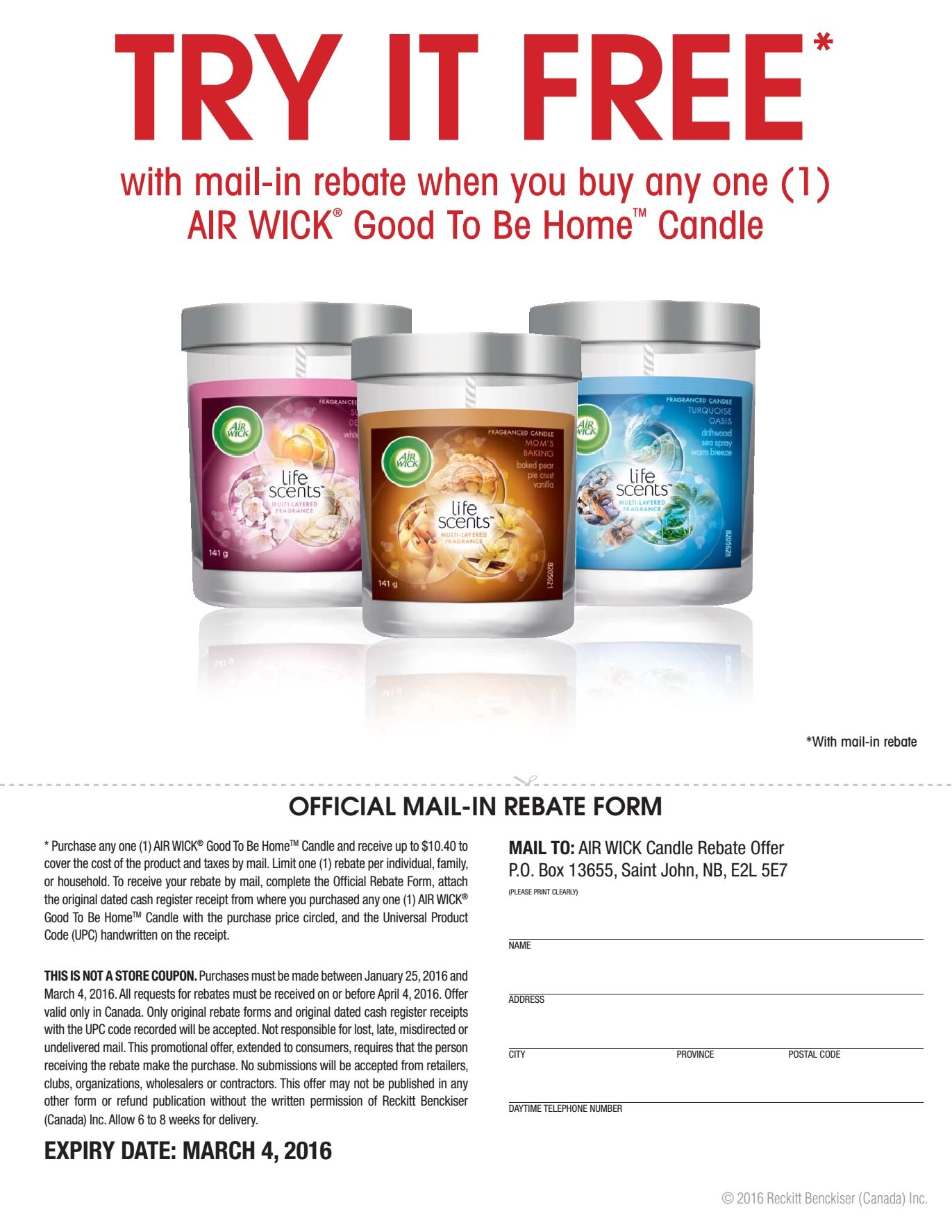 graphic about Airwick Printable Coupons called Air wick candle discount coupons - James allen coupon code 2018