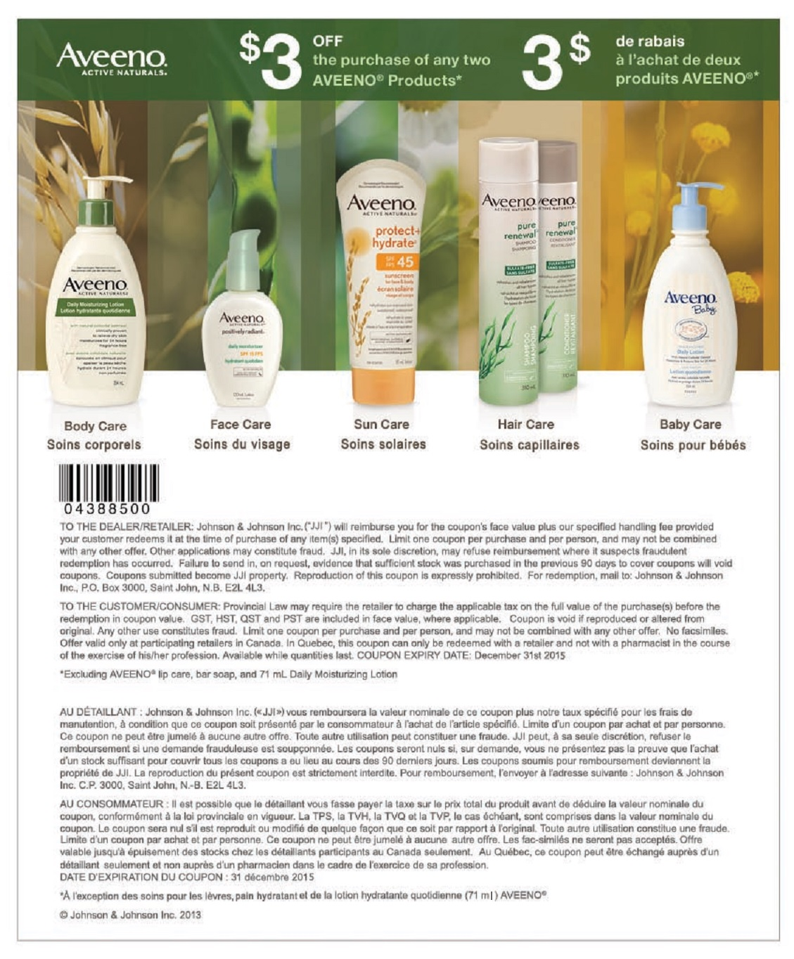 graphic relating to Aveeno Coupon Printable named Discount coupons aveeno canada - Toddlers r us coupon code march 2018
