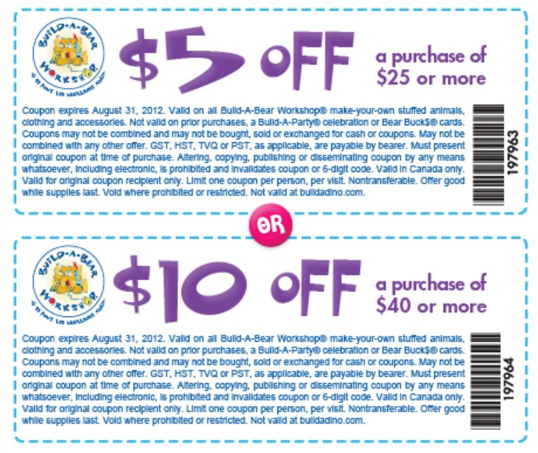graphic relating to Build a Bear Coupons Printable known as Acquire a Endure - Information