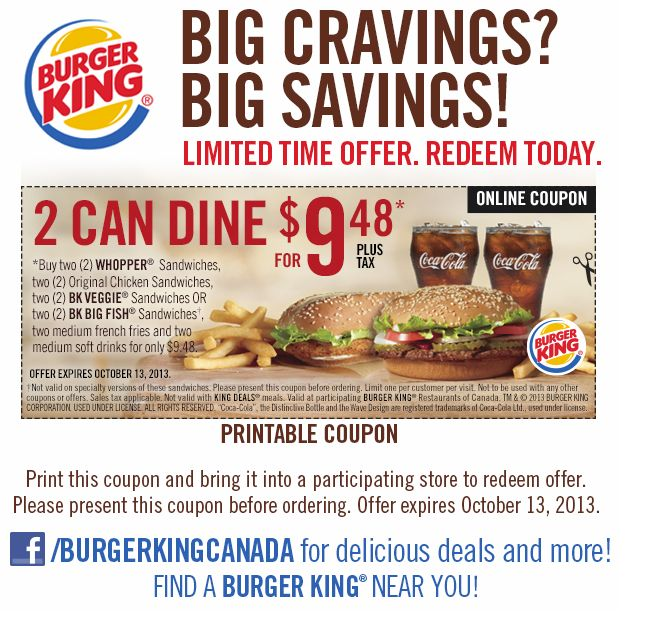 Kitchener Food Coupons
