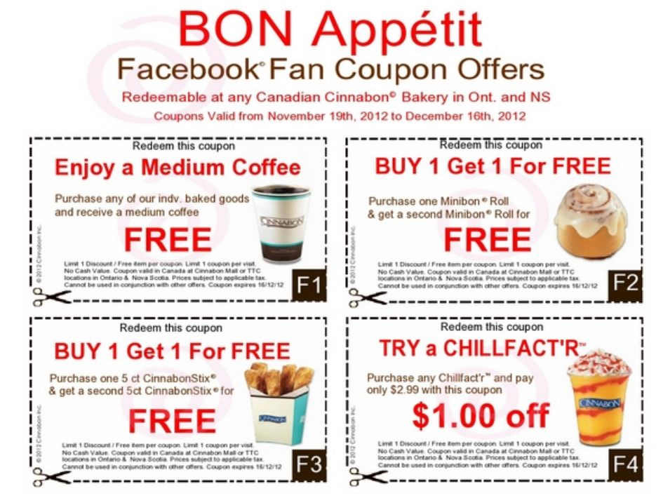 Coupons For Fast Food Restaurants In Canada