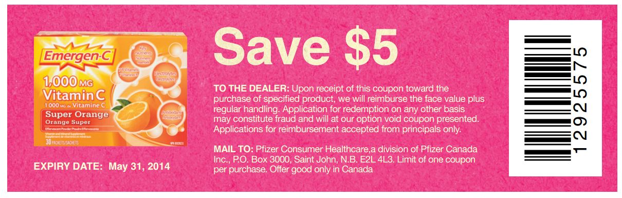 graphic about Emergen C Coupon Printable referred to as Emergen-C - Facts