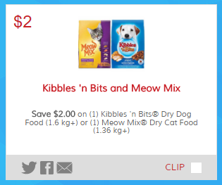 graphic about Kibbles and Bits Printable Coupons identified as Kibbles n Bits and Meow Combination - Information