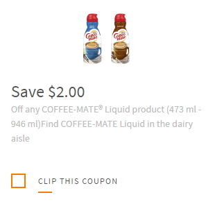 Like Coffee-mate coupons? Try these...
