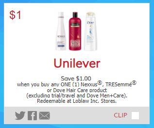 picture about Tresemme Printable Coupons identify Nexxus, TRESemme or Dove - Data