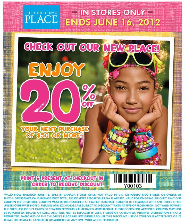 The Children's Place has Spring Style! $50 Gift Card Giveaway